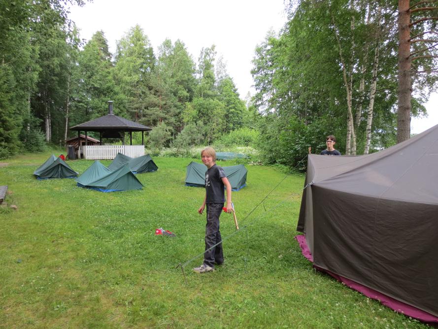 Kesäleirin kuvakooste 2015